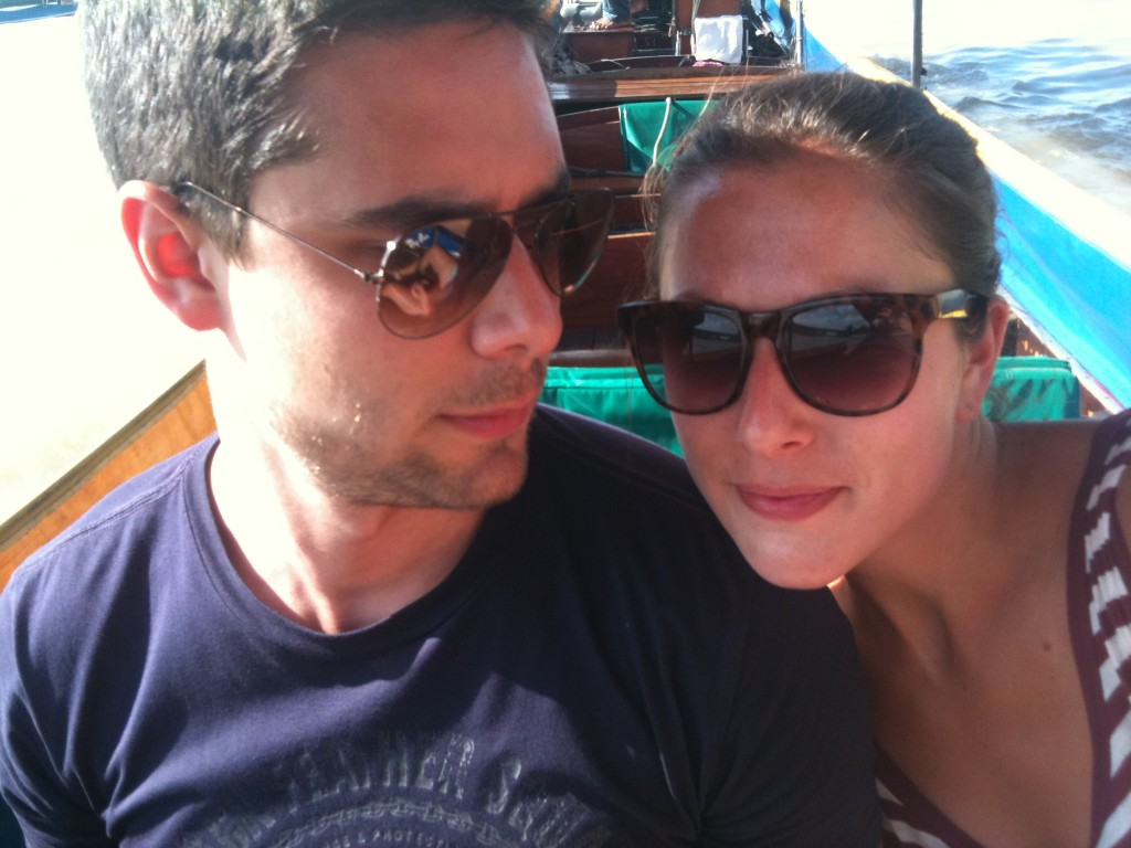 Bangkok long boat trip