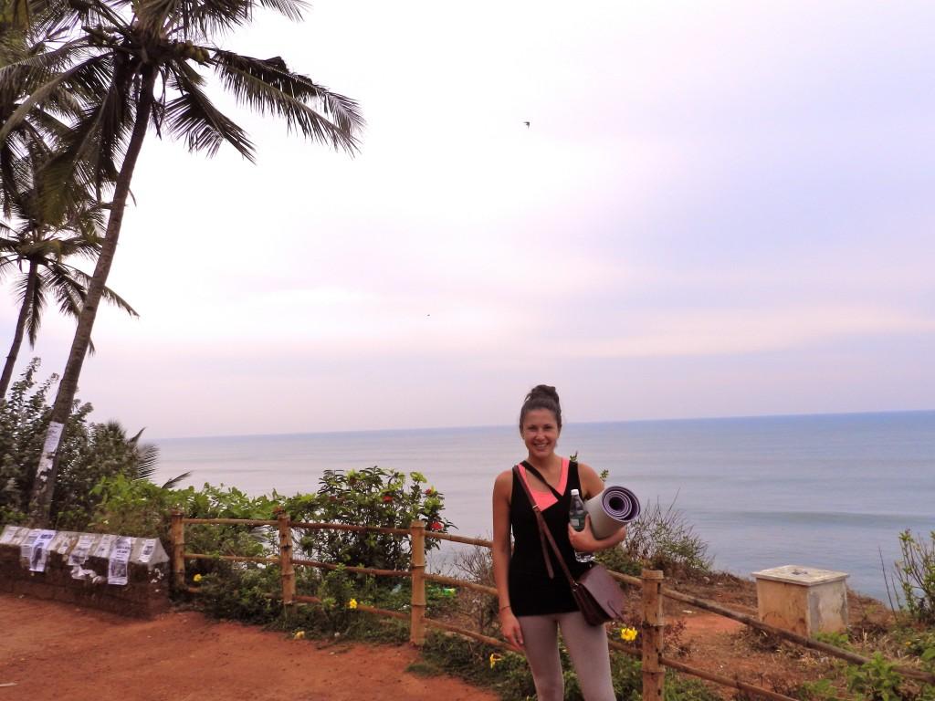 Varkala North Cliff, yoga