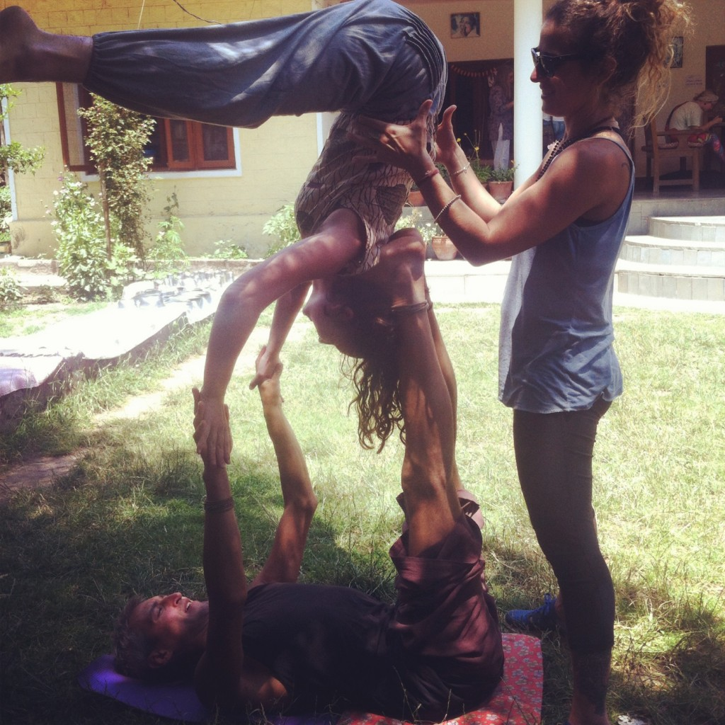 acro yoga play, india