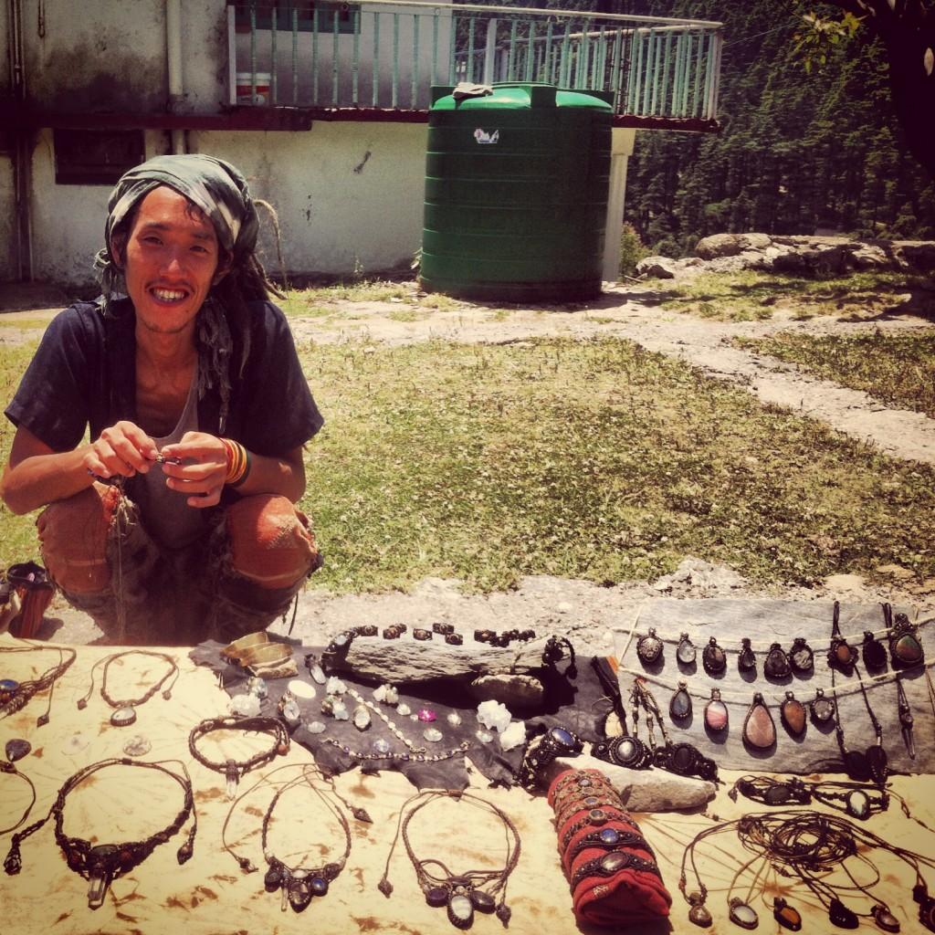 Jewellery maker, Dharamkot, Dharamsala