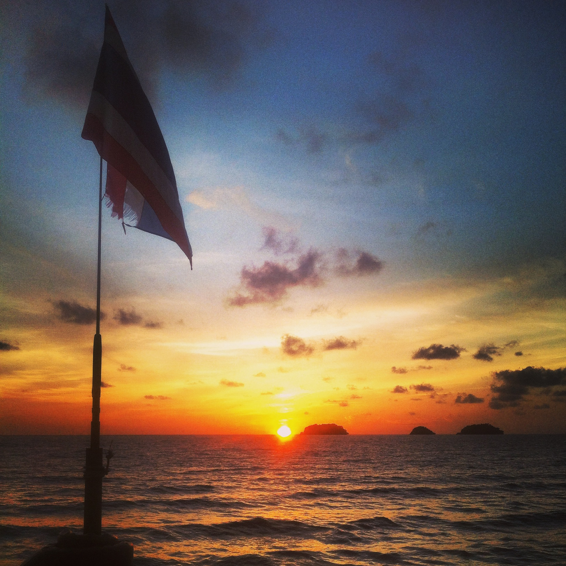 sunset, Koh Chang, Thailand