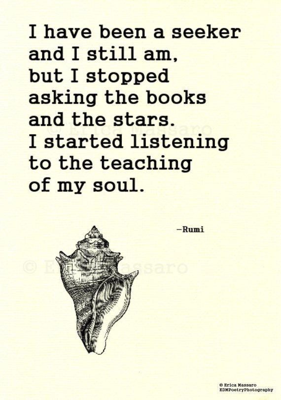 Rumi soul searching